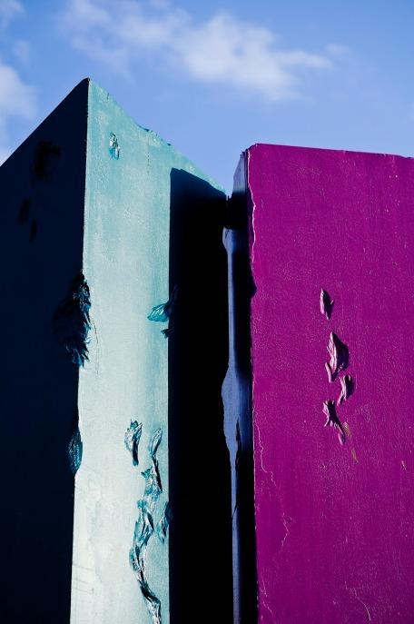 Photograph of art instalation by Norfolk & Norwich festival in Norwich, Norfolk