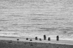Photograph of Groynes at Corton beach, Lowestoft, Suffolk