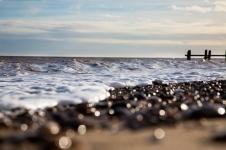 Photograph of Corton beach, Lowestoft Suffolk