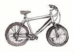 Bike - Ink Drawing