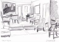 Kettle's Yard drawing 21st Feb '14